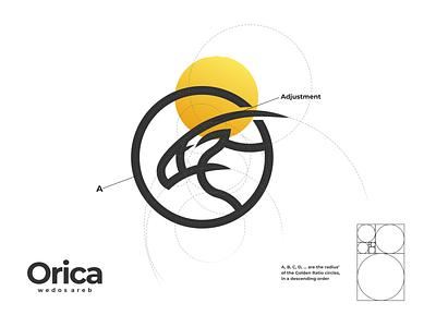 orica logo lettering logo design logodesign minimal vector corporate branding design logo illustration branding