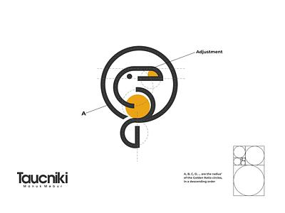 toucniki logo brand design lettering logo design logodesign vector corporate branding design logo illustration branding