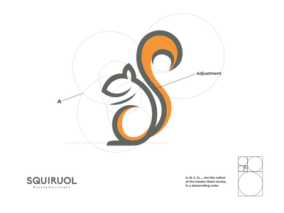squiroul logo lettering logo design minimal logodesign vector corporate branding design logo illustration branding