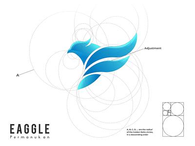 EAGGLE LOGO typography ux ui logodesign vector corporate branding design logo illustration branding