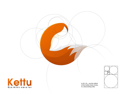 kettu logo typography ux ui logodesign vector corporate branding design logo illustration branding