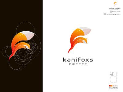 kanifoxs logo typography ux ui logodesign vector corporate branding design logo illustration branding