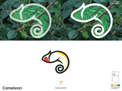 comeleon logo typography ux ui logodesign vector corporate branding design logo illustration branding