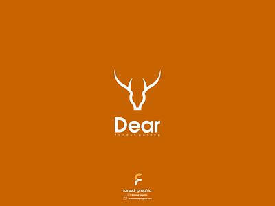 dear logo typography ux ui logodesign vector corporate branding design logo illustration branding