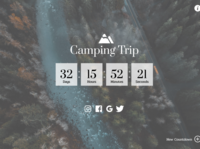 Daily UI Challenge: Day 14 Countdown Timer