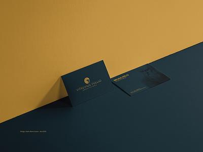ID - Vitruvius Pollio Arquitetura arquitetura branding identity designer marca logotipo