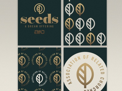 Seeds - A Dream Offering icon lettering artist lettering branding minimal logo illustration graphicdesign graphic design