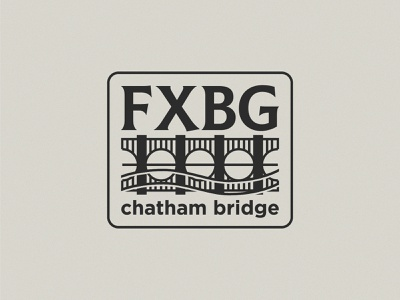 FXBG Patch icon lettering artist lettering branding minimal logo illustration graphicdesign graphic design