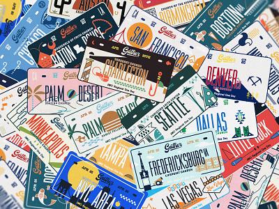 Pile Of Plates icon lettering artist lettering branding minimal logo illustration graphicdesign graphic design
