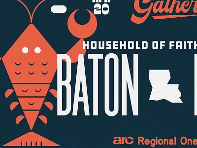 Baton Rouge icon lettering artist lettering branding minimal logo illustration graphicdesign graphic design