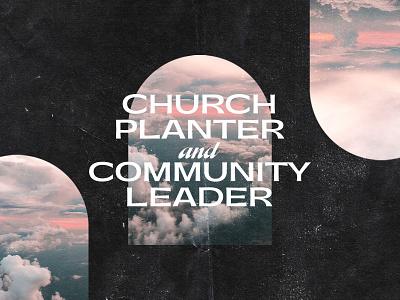 Church Planter and Community Leader icon lettering artist lettering branding minimal logo illustration graphicdesign graphic design