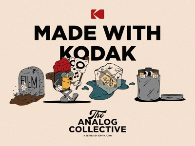 Concept Art - Kodak Characters icon lettering artist lettering branding minimal logo illustration graphicdesign graphic design