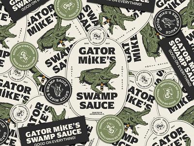 Gator Mike's icon lettering artist lettering branding minimal logo illustration graphicdesign graphic design