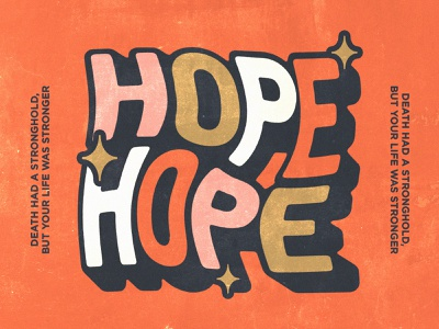 There is hope for tomorrow icon lettering artist lettering minimal logo illustration graphicdesign graphic design branding