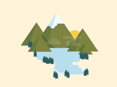 Mountains Version 2