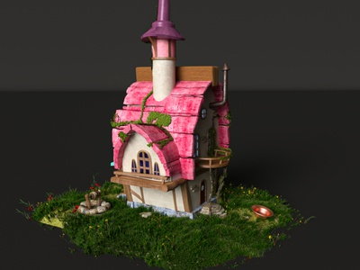 Fairy-tale house v3