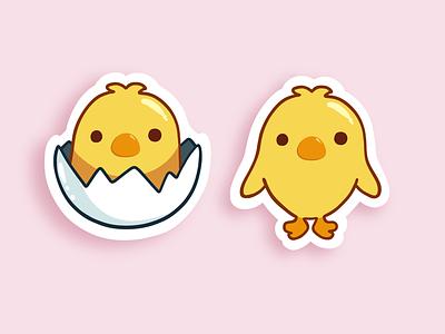 Chick Emoji Remake chicks drawing illustration sticker emoji