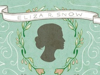 Eliza R. Snow Newsletter Cover