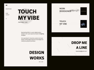 Touch My Vibe -  Portfolio