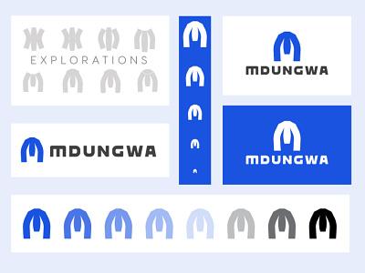 Letter M Logo Concept | Custom Type Design custom type typography letter m graphic design logo branding tech brand
