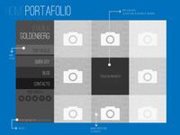 Personal Portfolio - Wireframe