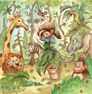 illustration for a Childrens Book