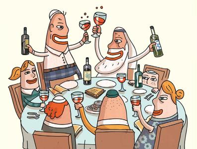 Wine and Holidays.