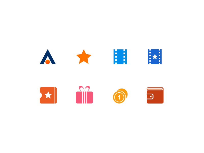 Namava Icon Set by Ali Babaie | Dribbble | Dribbble