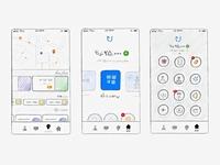 Jibit App Ideas Sketches