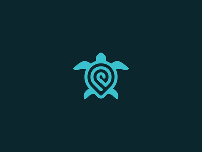turtle logo brand identity animal clear clean geometic designs brand icon minimal branding design vector symbol modern logo turtle