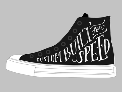 Custom Chuck Taylors chuck taylors chucks chuck taylor shoes motorcycle lettering converse
