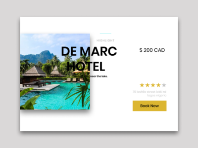 Dailyui 067 Hotel booking