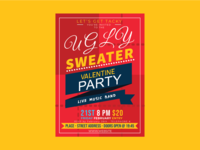 Ugly Sweater Valentine Party