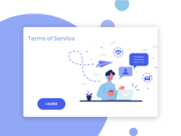 Dailyui 089 Terms of Service