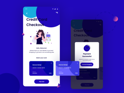Daily UI 002 - Credit Card Checkout Page