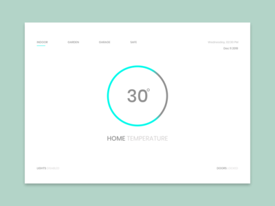 Dailyui 021 - Monitoring Dashboard