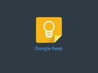 Google Keep - Sketch