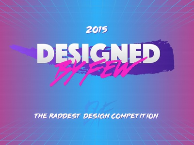 2015 Designed By Few conference competition design made by few designed by few mxf dxf