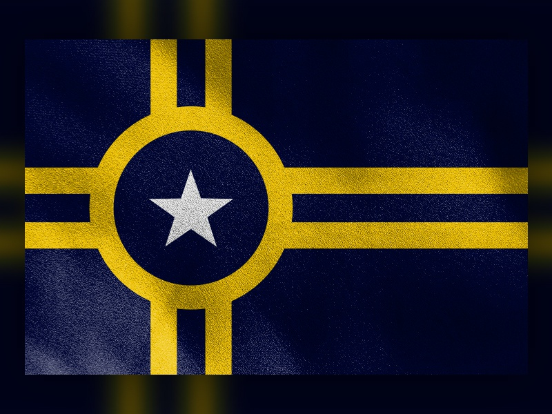 Little Rock Proposed Flag Redsign stripe star redesign design simple revised flag arkansas little rock