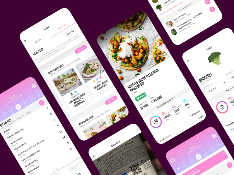 Fit Body App Meals clean healthy few fit body anna victoria pink journal diary tracker app recipe app meal planner recipe fats carbs protein calorie macro meals fitness