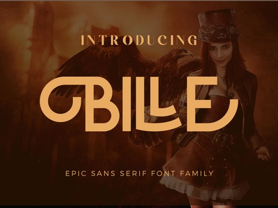 Epic Billie font