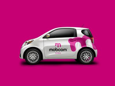Mobcom Global logo & brand concept