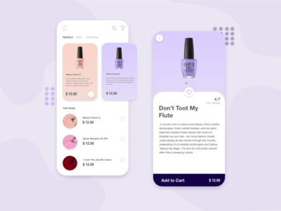 Nail Polish Concept App