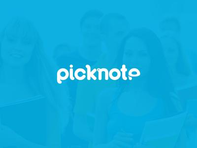 Logo concept - Picknote