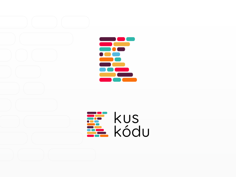 Identity for the project kuskodu.cz logo identity branding logo design code programmer program web