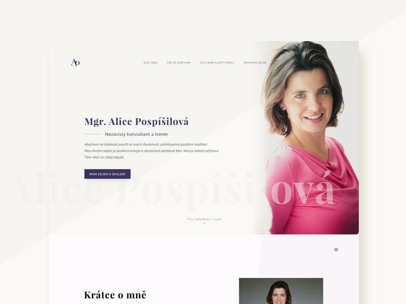 Memory Coach - web design homepage redesign creative behance presentation web website minimalistic coach personal