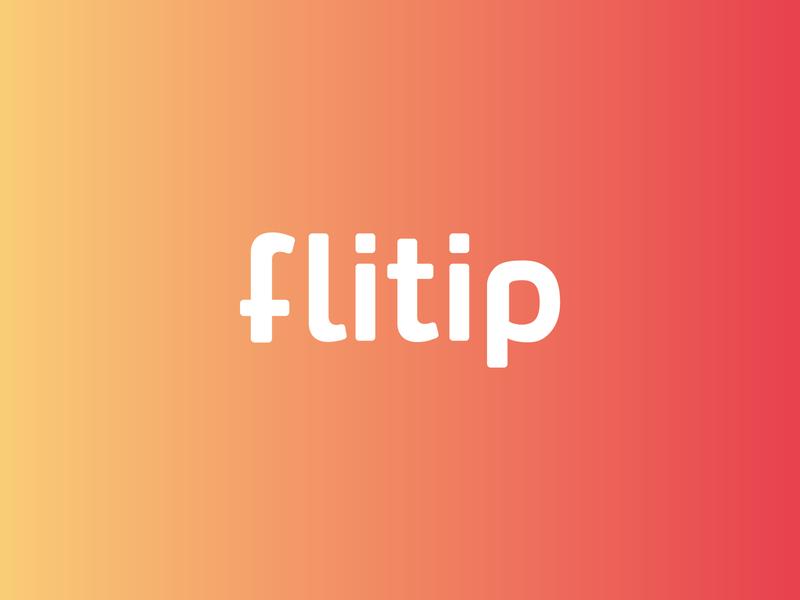 Flitp –  Brand Identity logodesign minimal app design color pallet color branding design logo fitness app branding brand identity