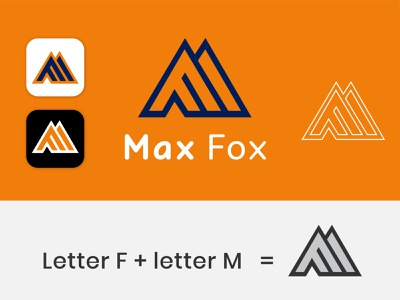 Letter M&F logo company logo brand logo vector design logo graphic design branding