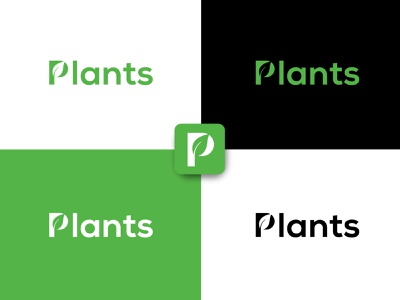 Plants Logo green plant logo plant shop logo design plant nursery logo plants plants for sale logo illustration brand logo vector logo design graphic design branding
