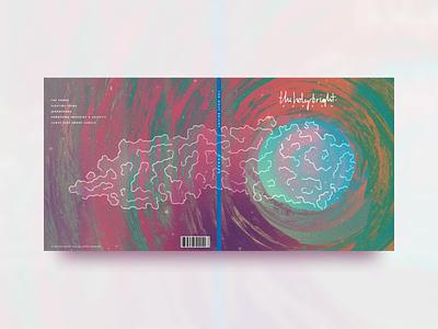 Sonder script band vinyl print music emo void branding illustration album cover album artwork